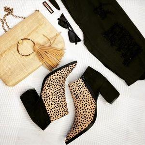 Shoes - 🆕️//The Alena// leopard print bootie